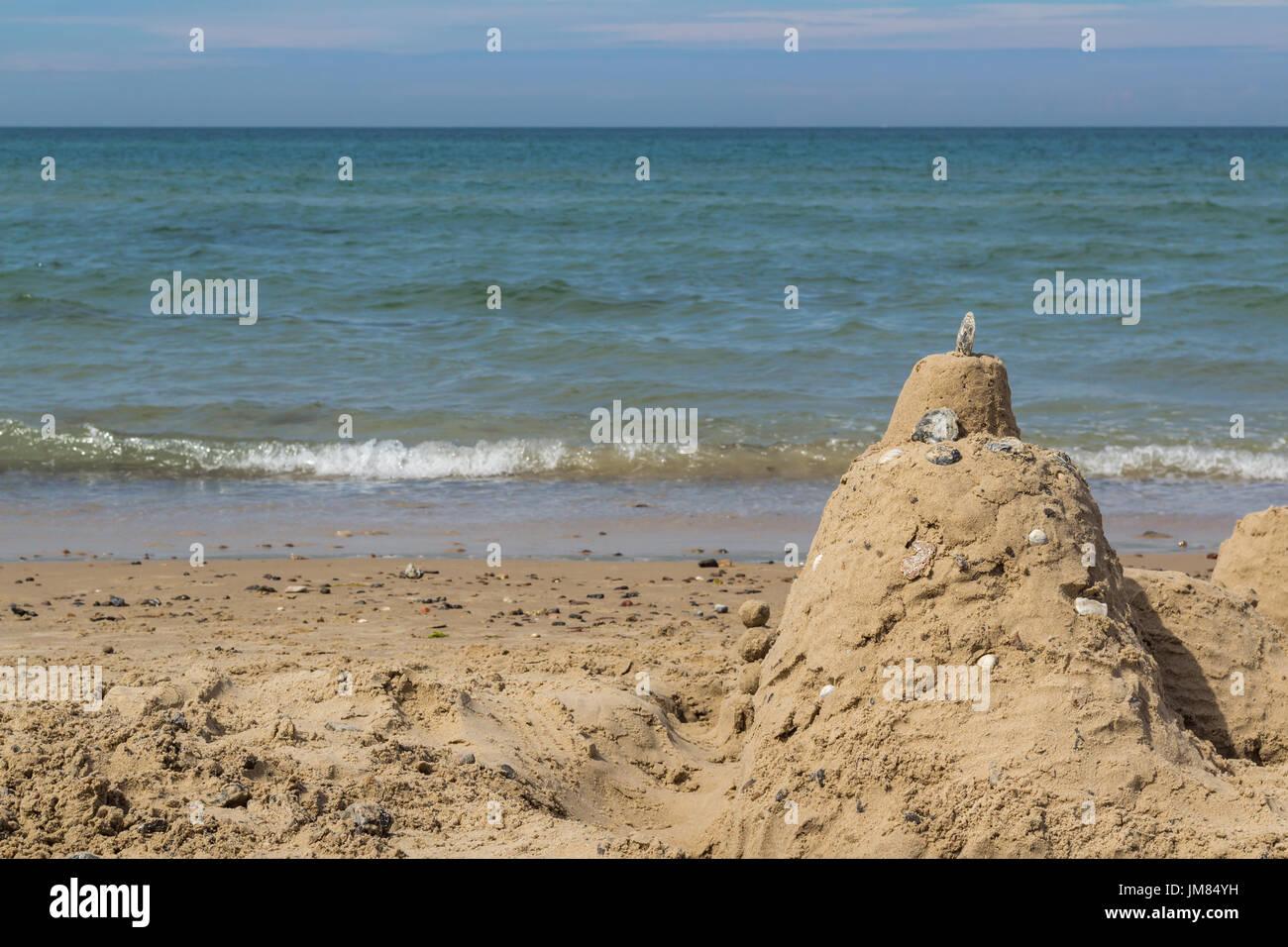 Las Vistas Beach Sand Castle Building