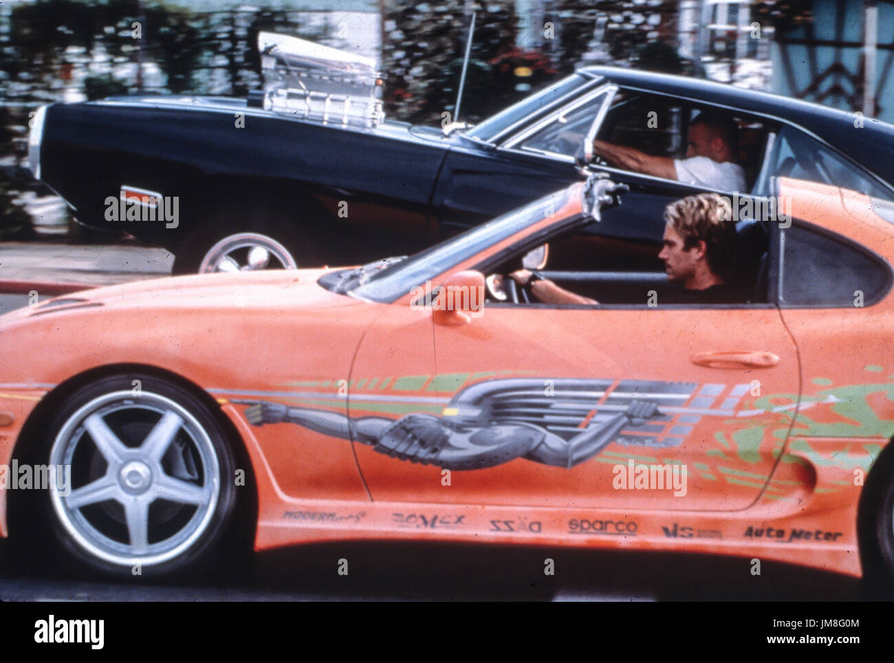 fast and the furious, vin diesel, paul walker, 2001 - Stock Image