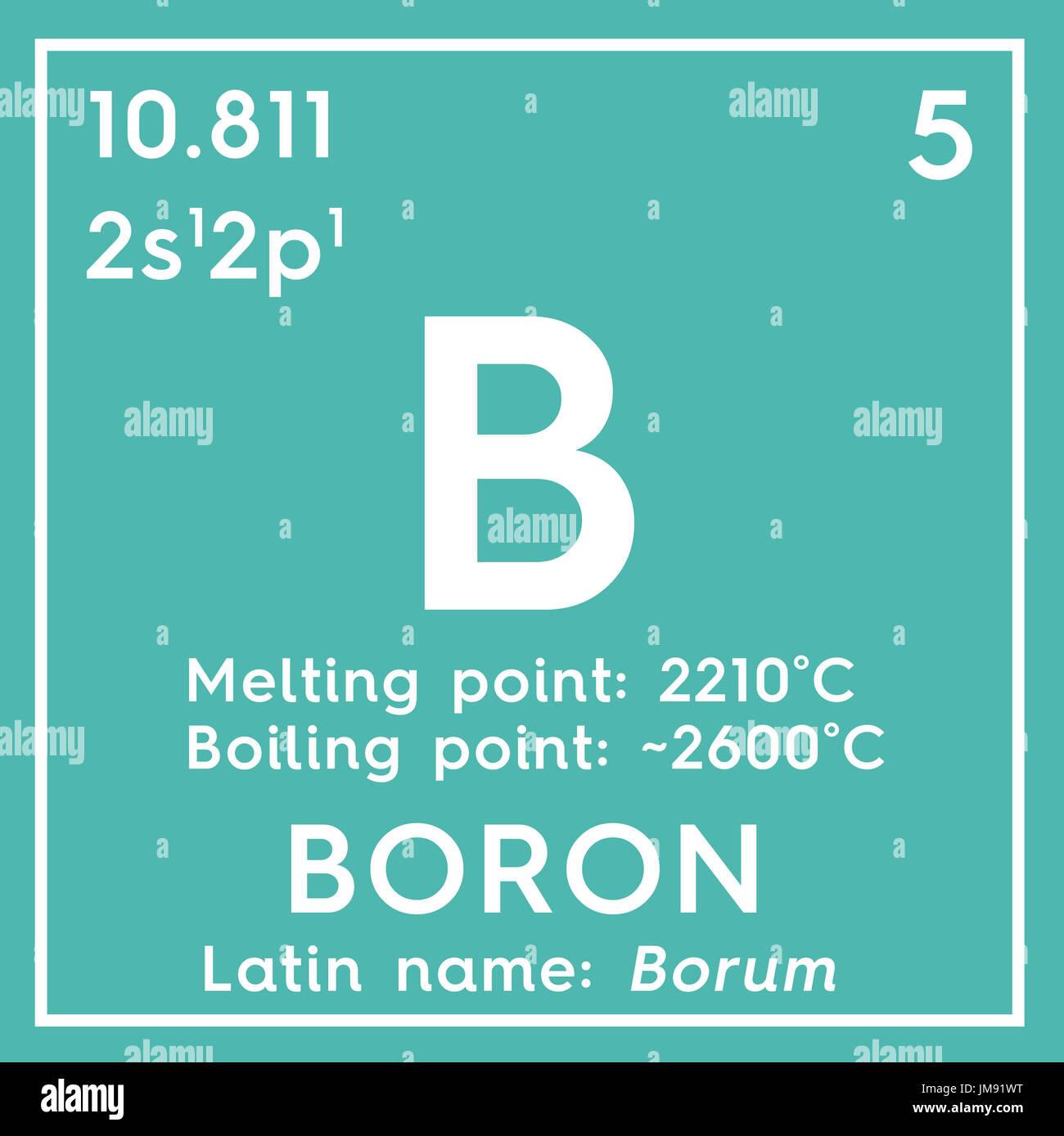 boron atomic structure stock photos amp boron atomic