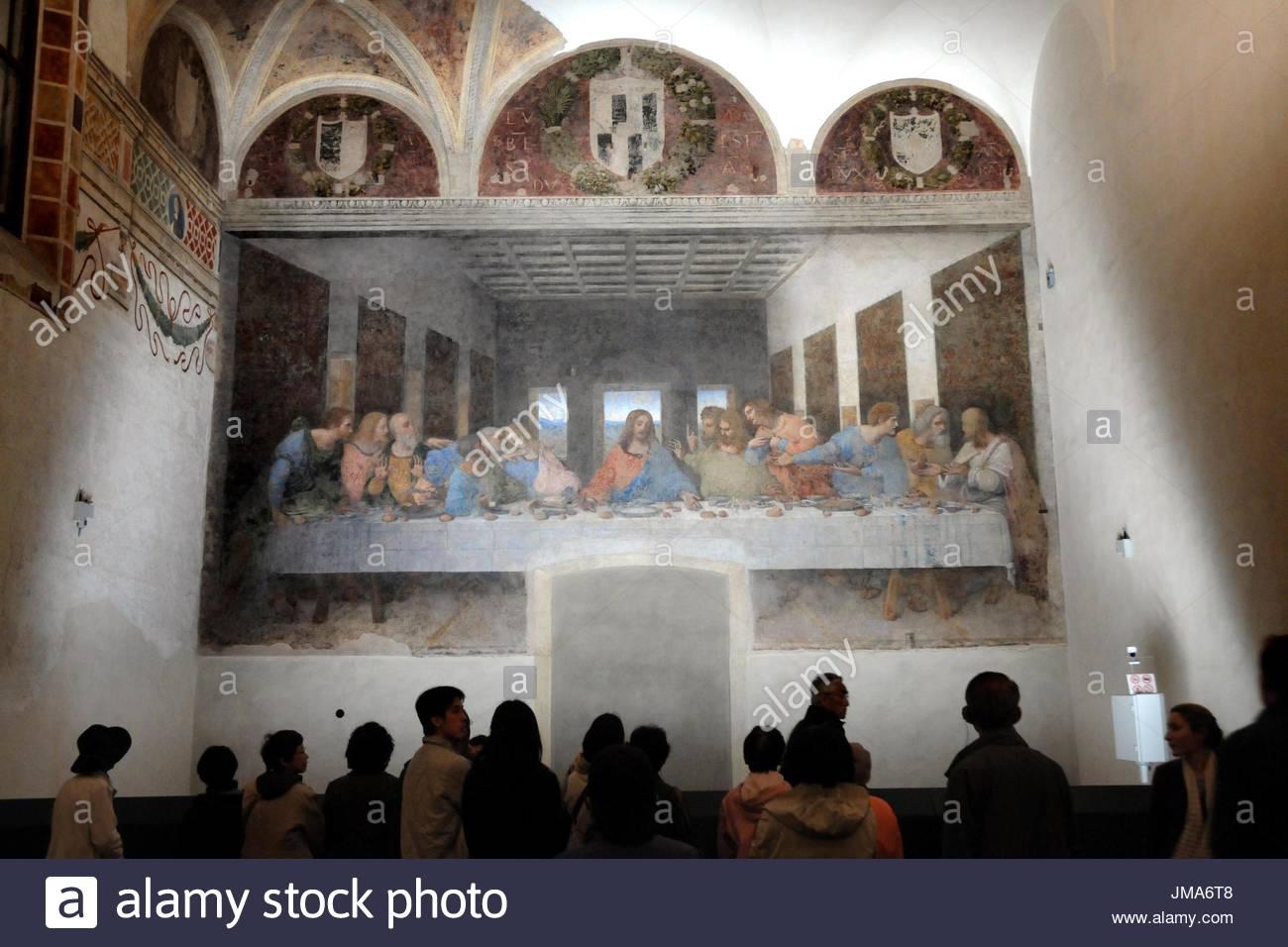 the last supper by leonardo da vinci essay Art painting religion essays - leonardo da vinci's the last supper.