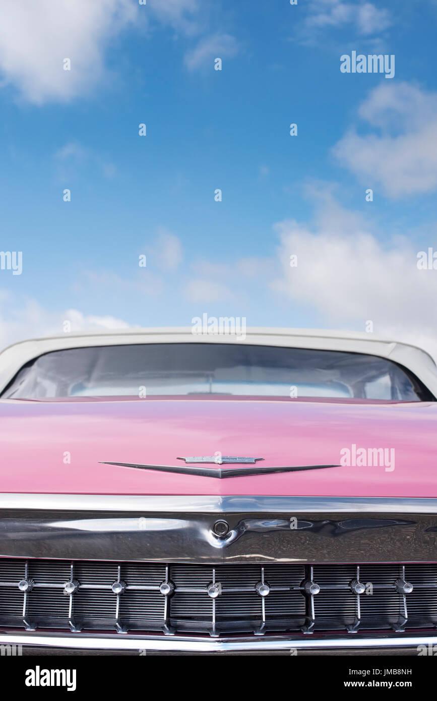 1959 Cadillac Pink Stock Photos 1959 Cadillac Pink Stock