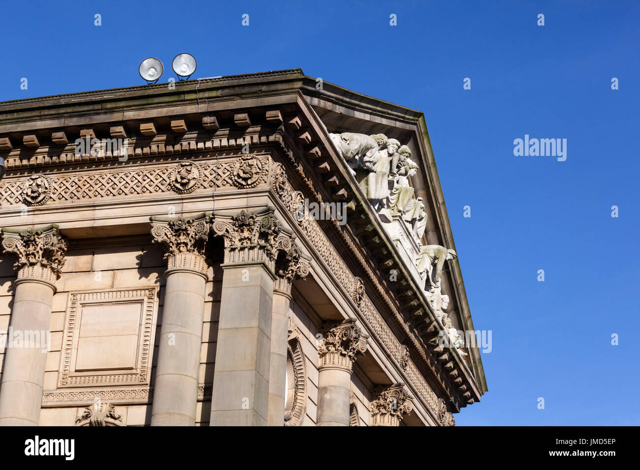 The Town Hall, Todmorden, West Yorkshire - Stock Image