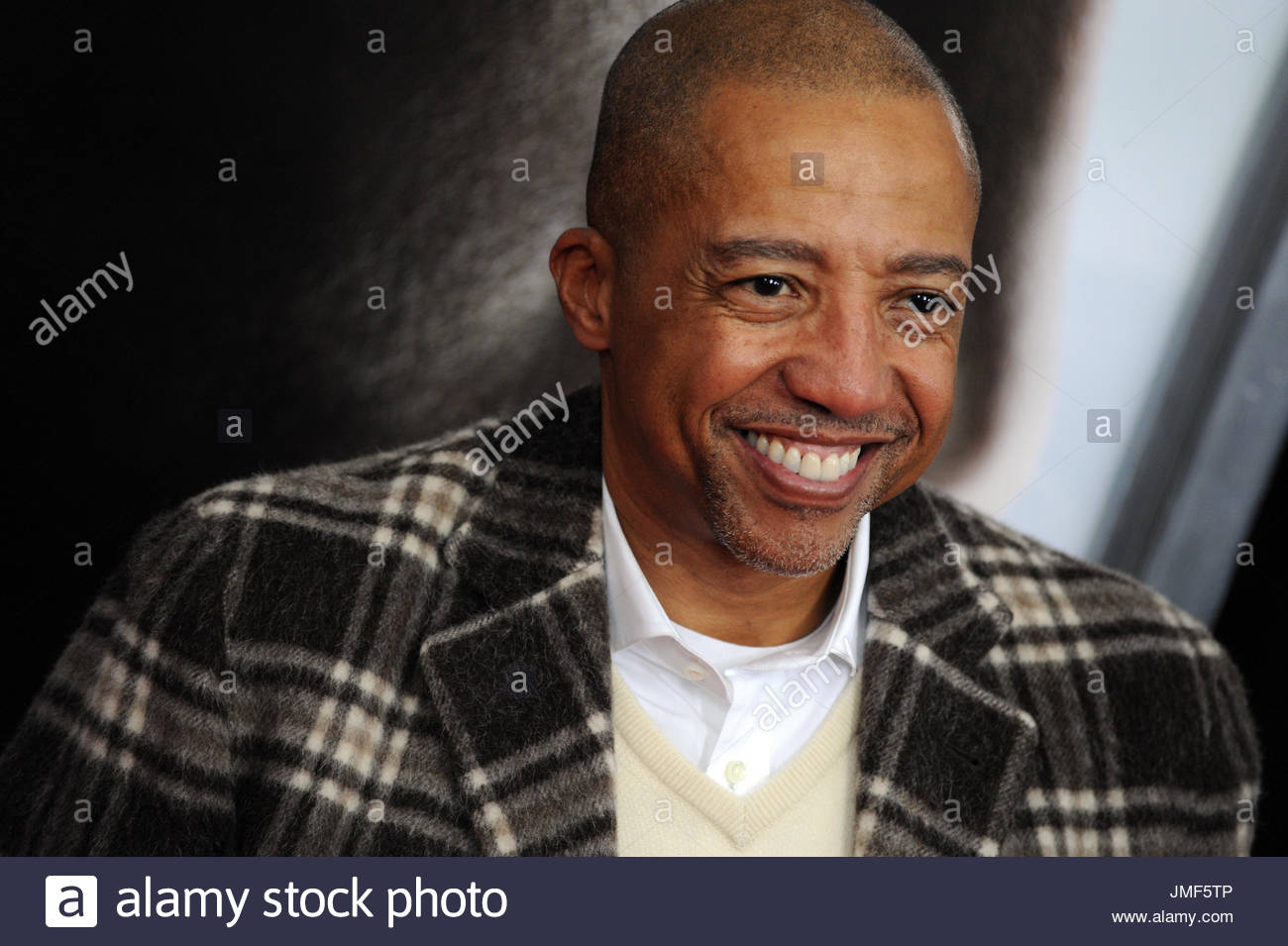 Kevin Liles. Will Smith attends the 'Concussion' New York premiere at AMC Loews Lincoln Square on December - Stock Image