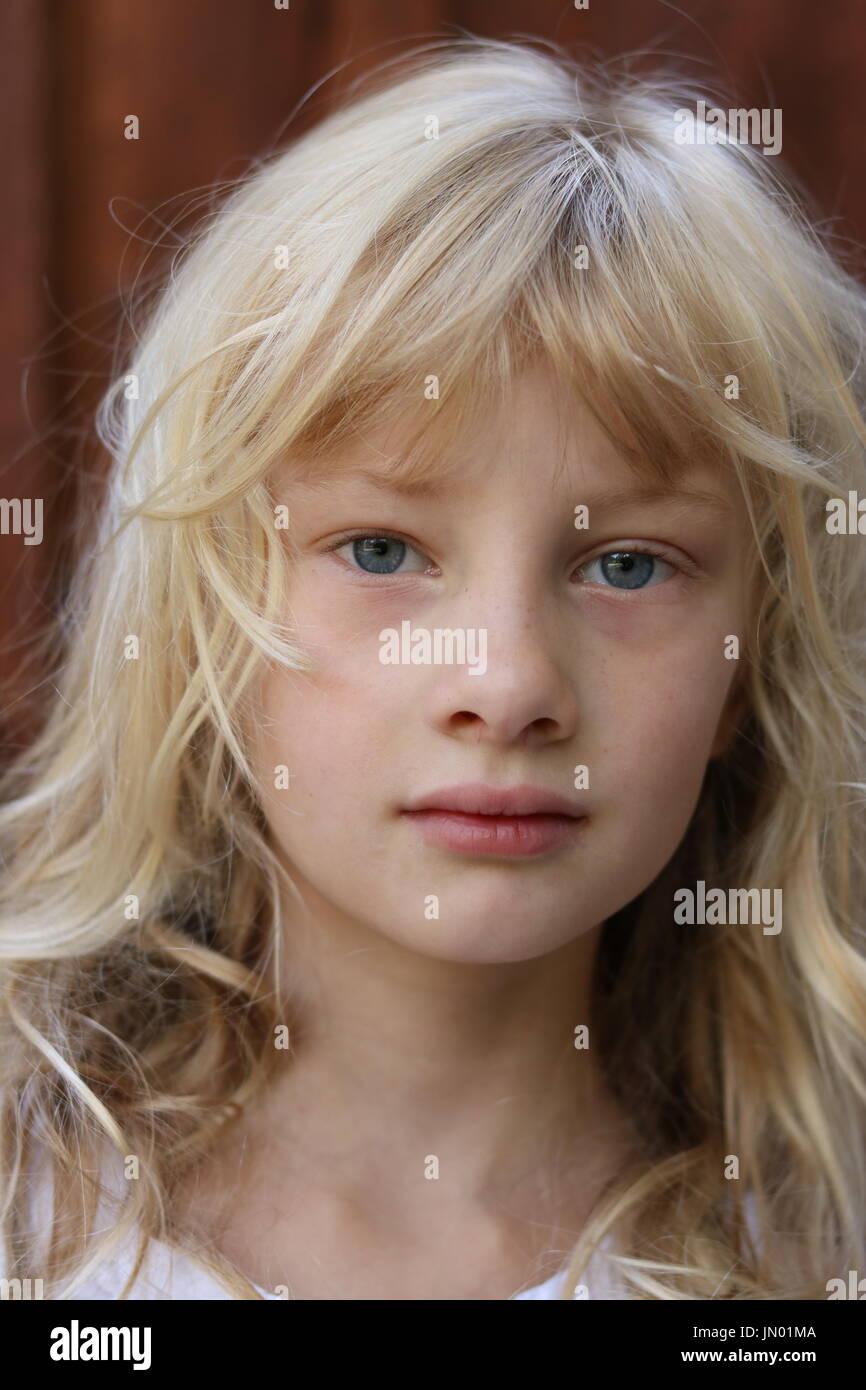 Blue Eyed Girl Blond Hair Stock Photos Amp Blue Eyed Girl