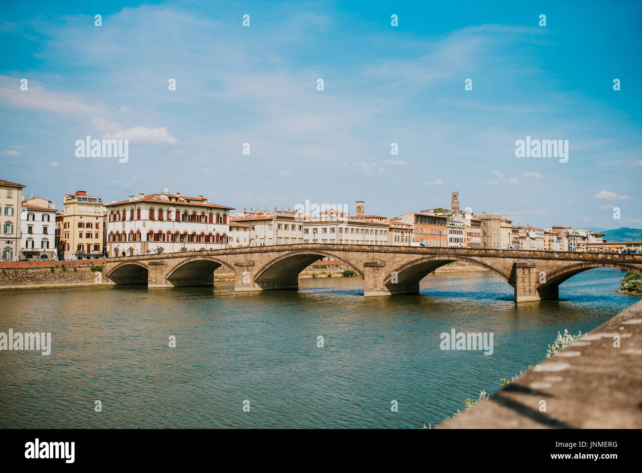 Beautif city of Florence, Italy - Stock Image