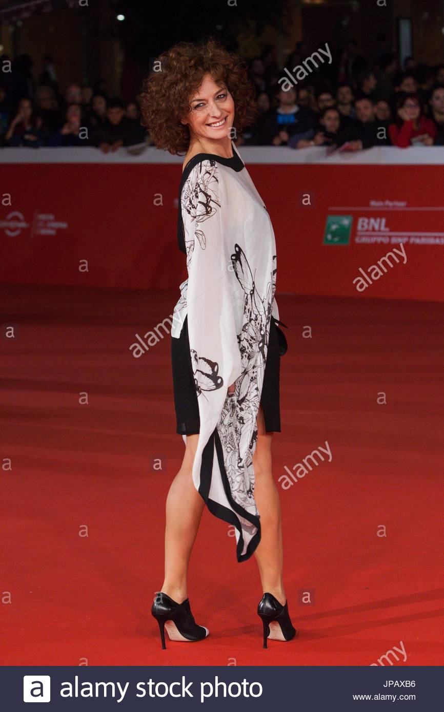 Lidia Vitale. 'Lo chiamavano Jeeg Robot' Red Carpet at 10th Rome Film Festival at Auditorium Parco della - Stock Image