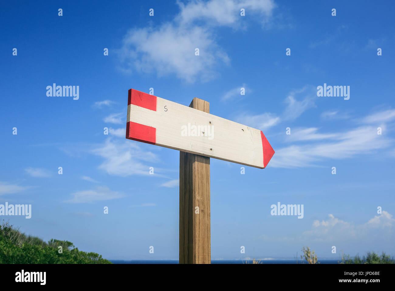 Wooden Beach Hut Signs