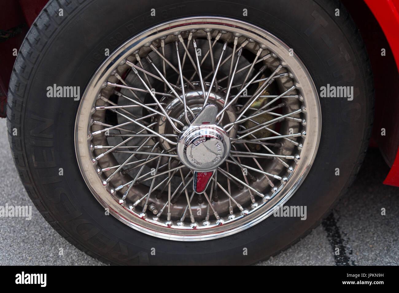 Classic Car Close Up Wheel Stock Photos Amp Classic Car