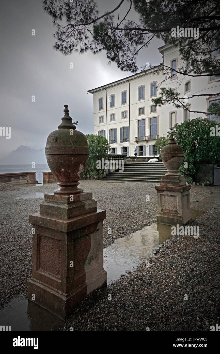 italian villa - Stock Image