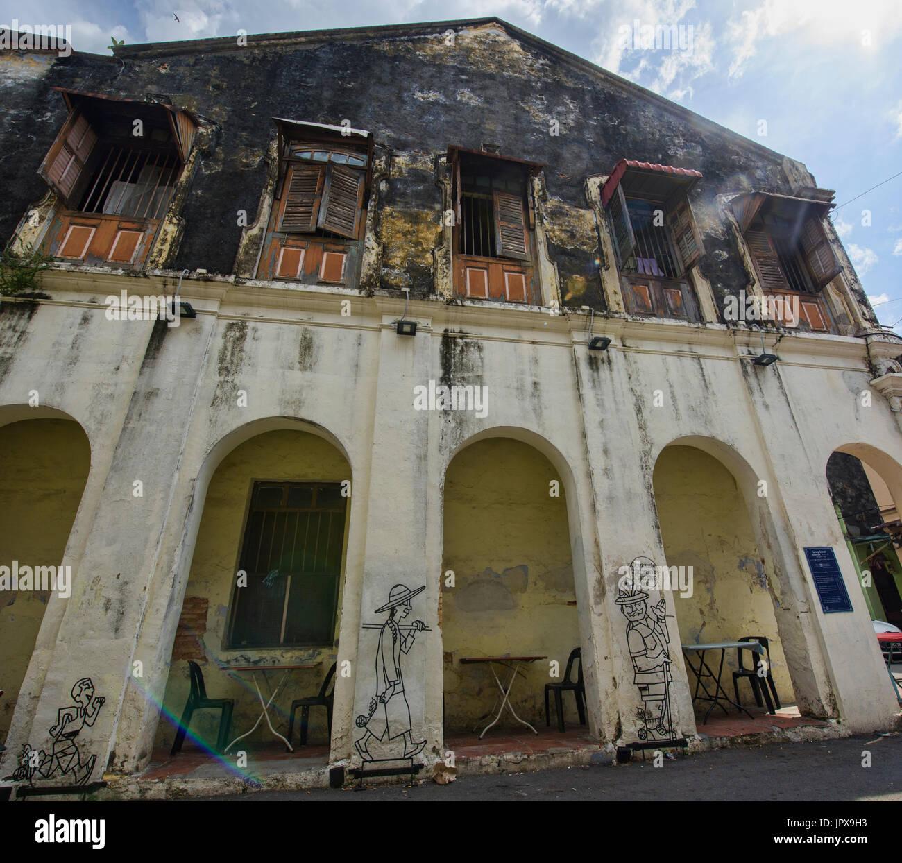 World Heritage Penang Stock Photos & World Heritage Penang
