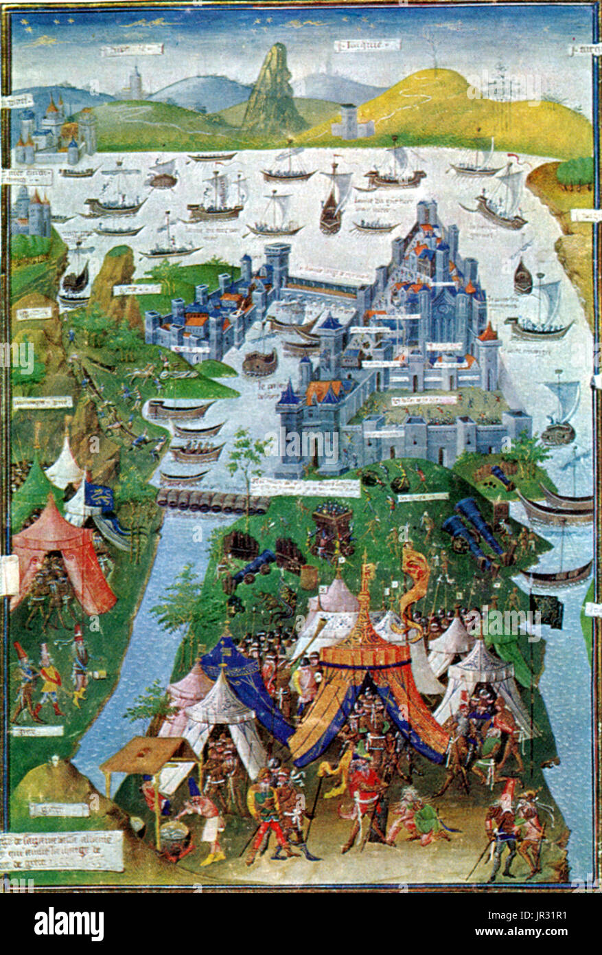 the byzantine empire to siege of Not only did it save the byzantine empire against traditional siege engines and complemented by adequate land and sea forces, the walls of constantinople.