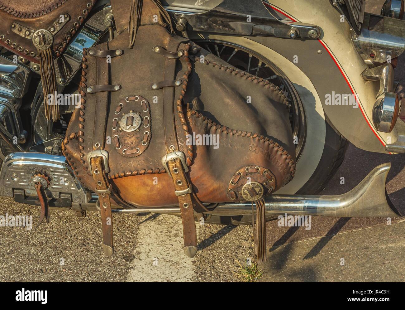 Saddle Bags Stock Photos & Saddle Bags Stock Images