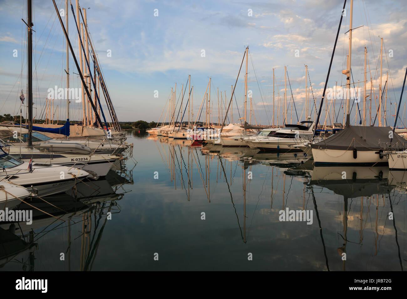 ACI marina, Pomer, Croatia - Stock Image