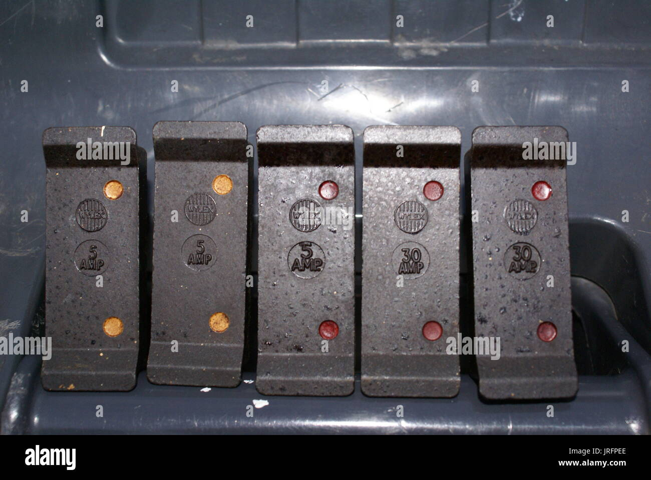 Resetting Fuse Box After Power Cut : British power socket stock photos