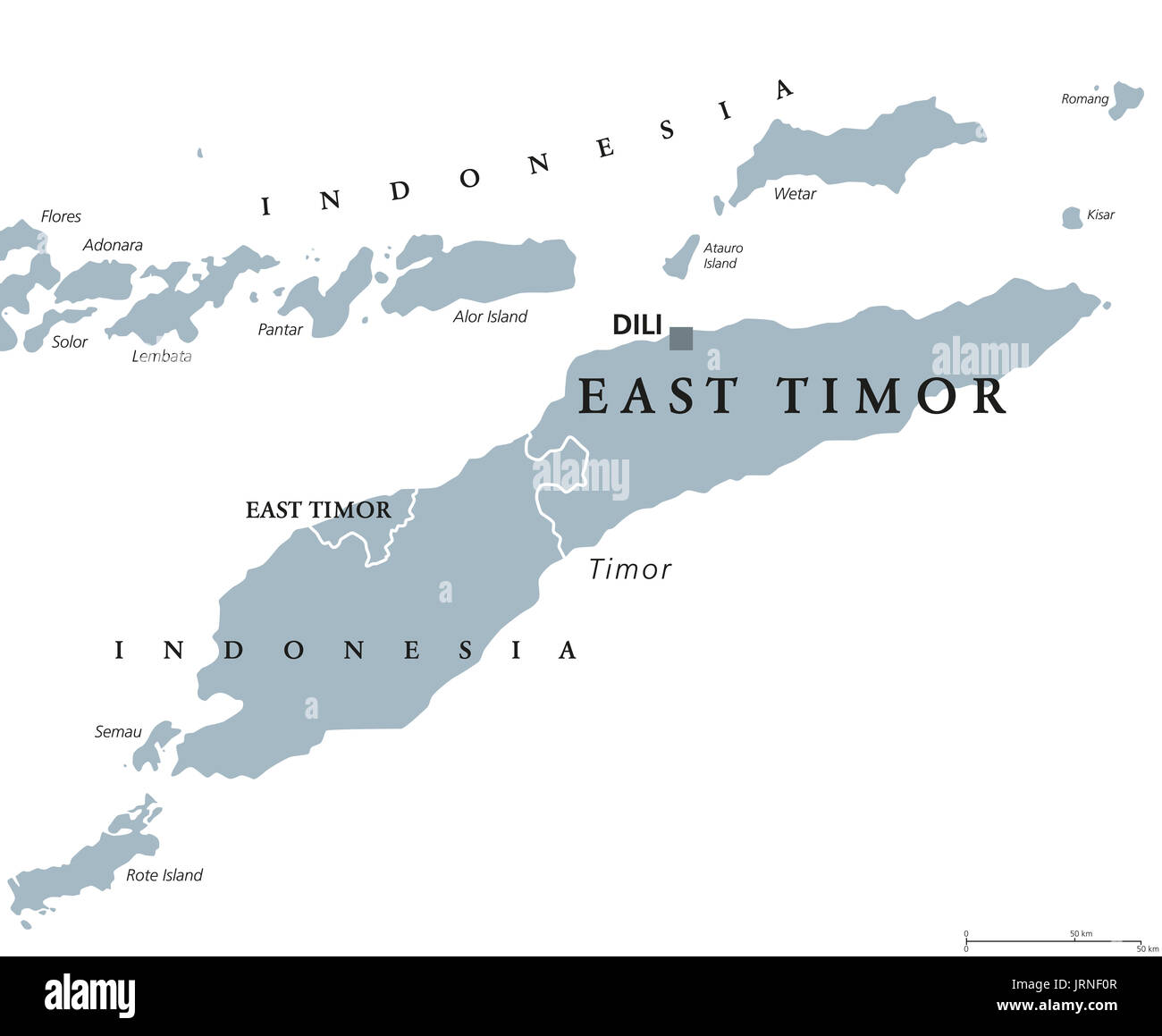 the issue of the people of the island of east timor