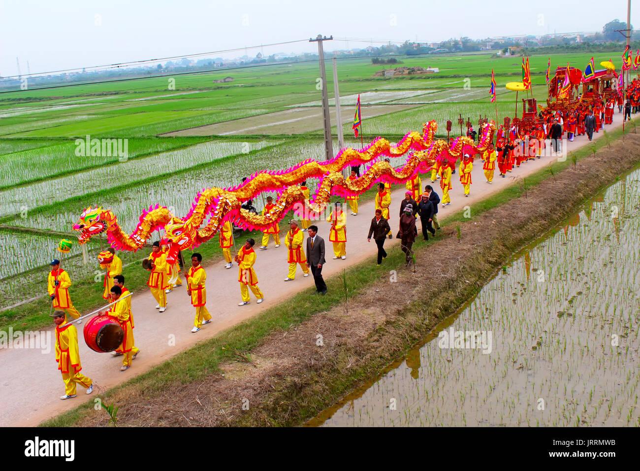 Lunar new year in binh duong