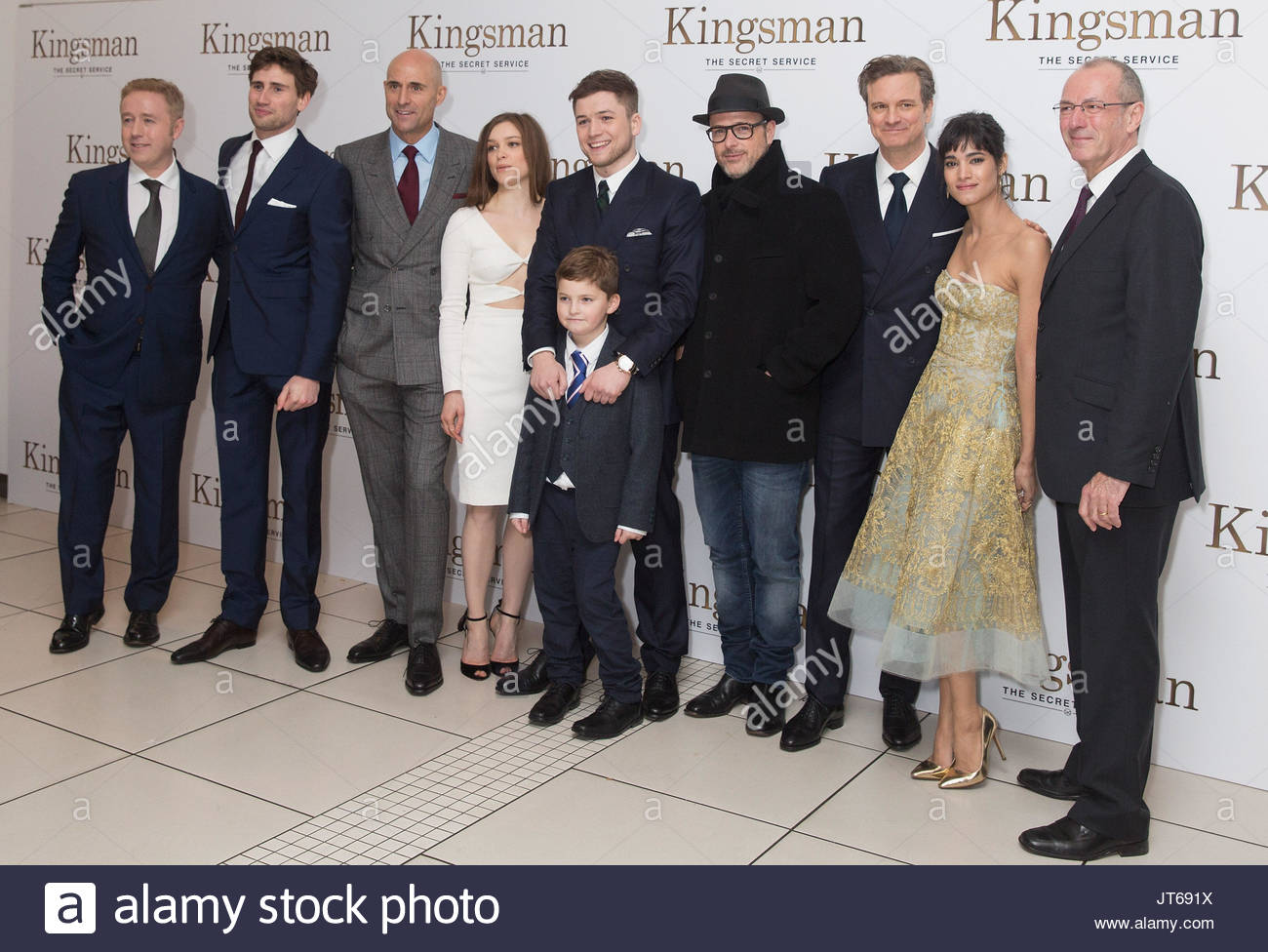Exclusive Colin Firth Taron Egerton And Sophie Cookson: Mark Millar, Edward Holcroft, Mark Strong, Sophie Cookson