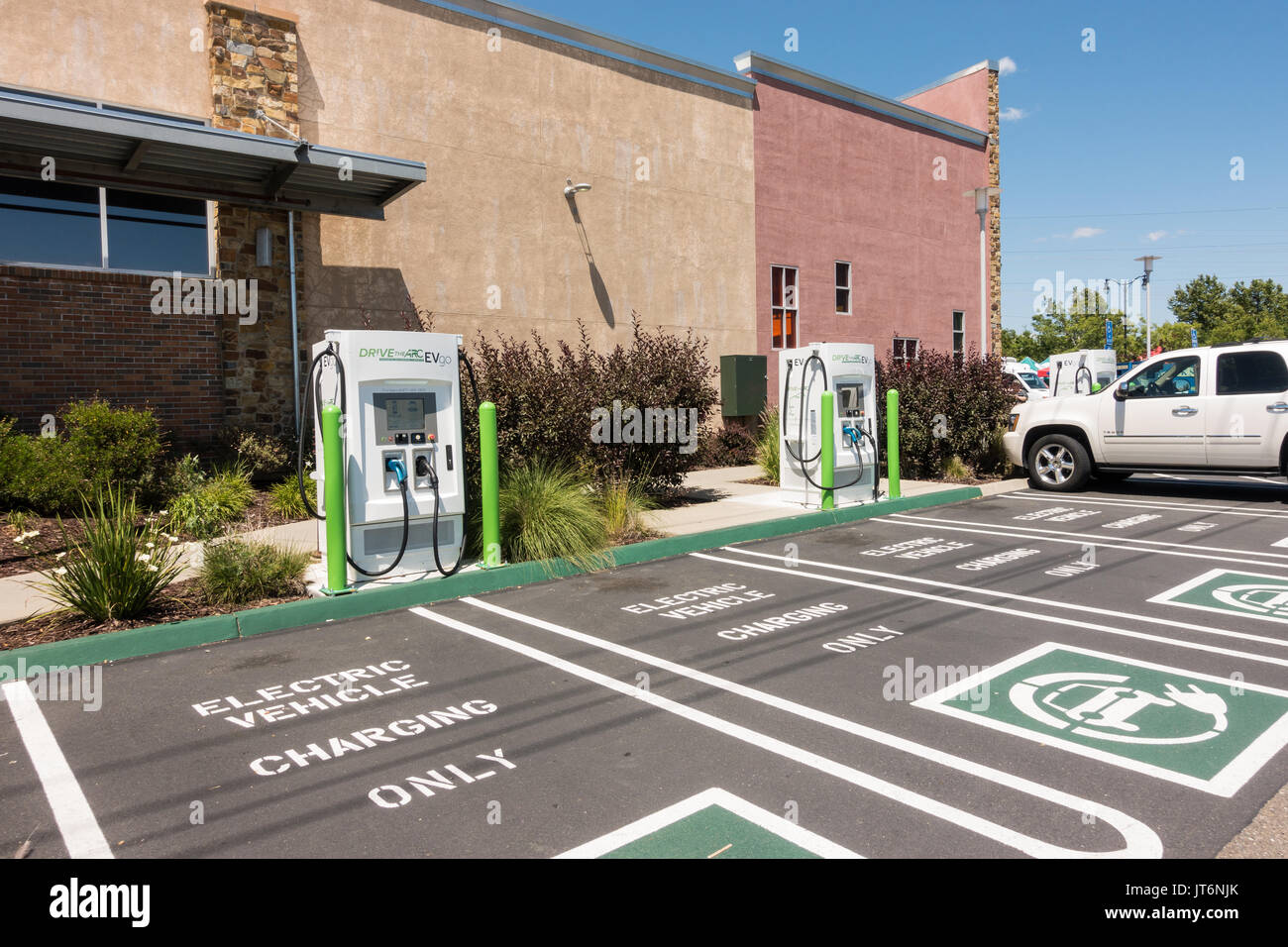 Whole Foods Electric Car Charging Station
