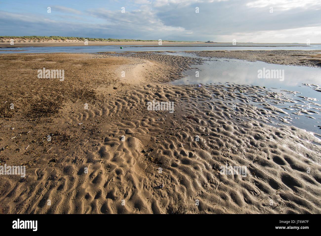 Brancaster Beach, Norfolk, UK - Stock Image