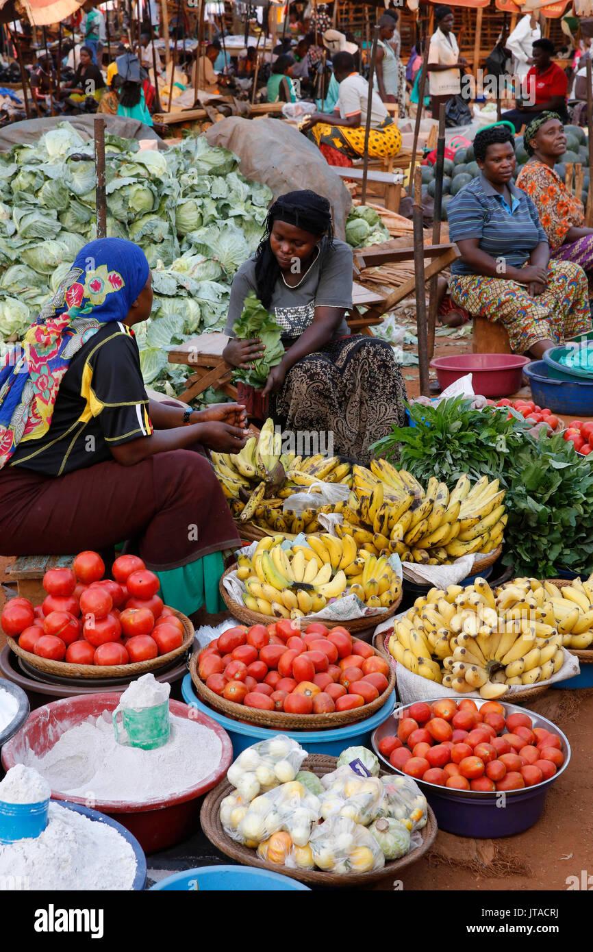 Masindi market, Uganda, Africa - Stock Image