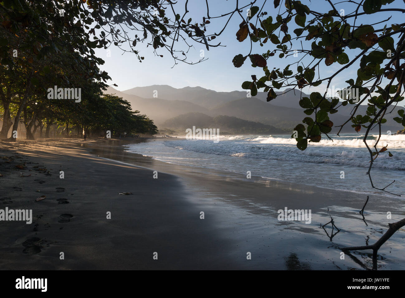Castelhanos Beach, Ilhabela, Brazil Stock Photo