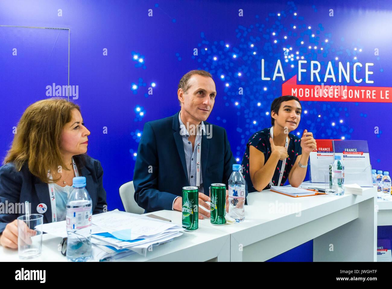 Paris, France, Paris sans SIDA News Conference, Jean-Marie Molina, International AIDS Society I.A.S. Conference, - Stock Image