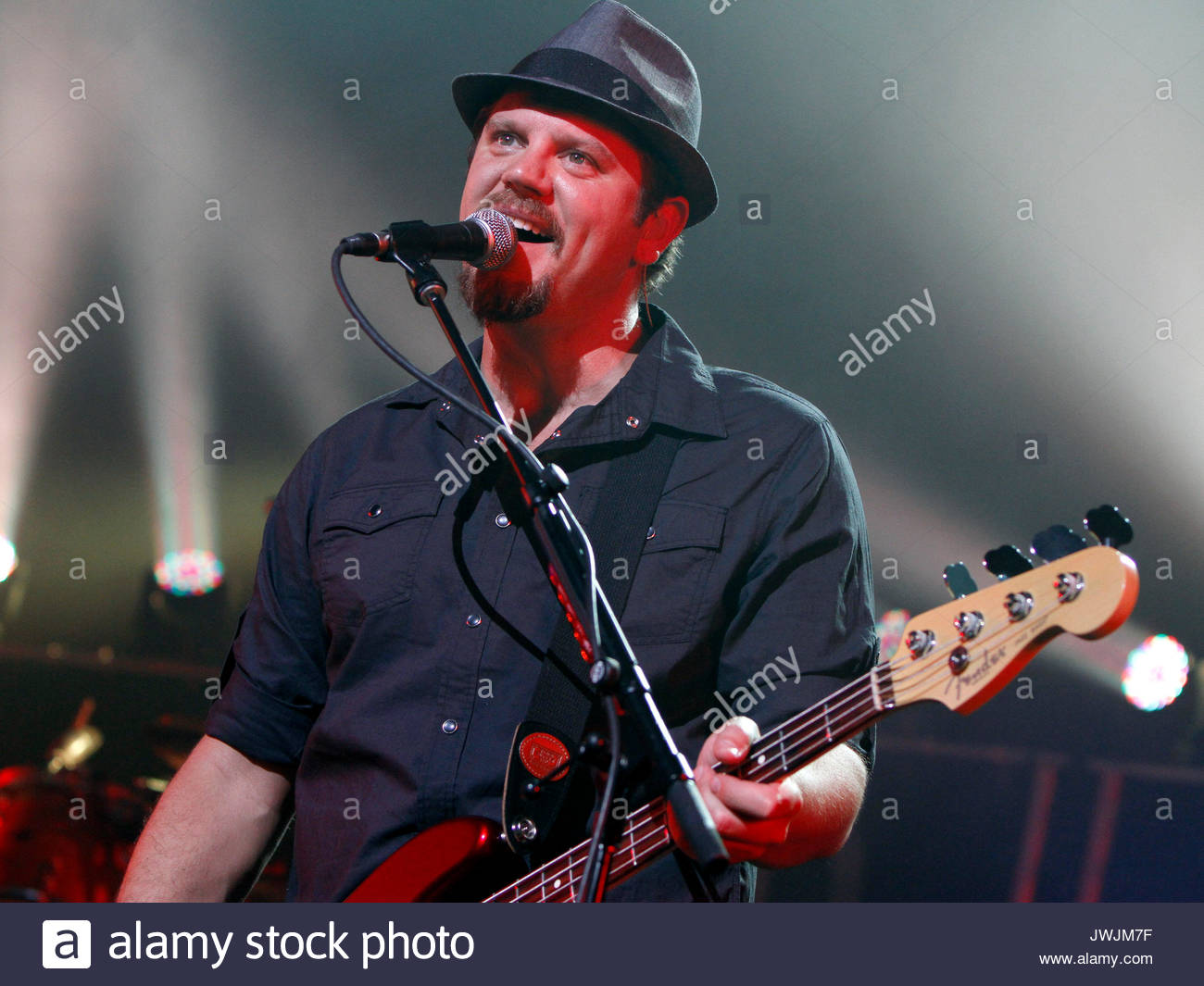Samuel Tai Anderson. Christian rock band Third Day made a stop on their Miracle Tour at the Fox Theater in downtown - Stock Image