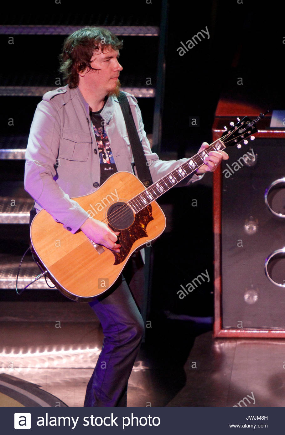 Mark David Lee. Christian rock band Third Day made a stop on their Miracle Tour at the Fox Theater in downtown Atlanta - Stock Image