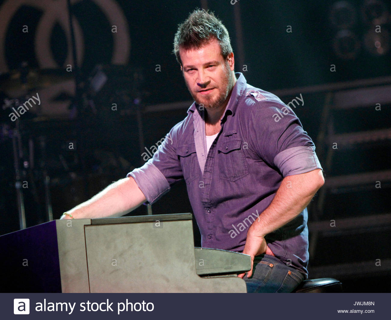 Scotty Wilbanks. Christian rock band Third Day made a stop on their Miracle Tour at the Fox Theater in downtown - Stock Image