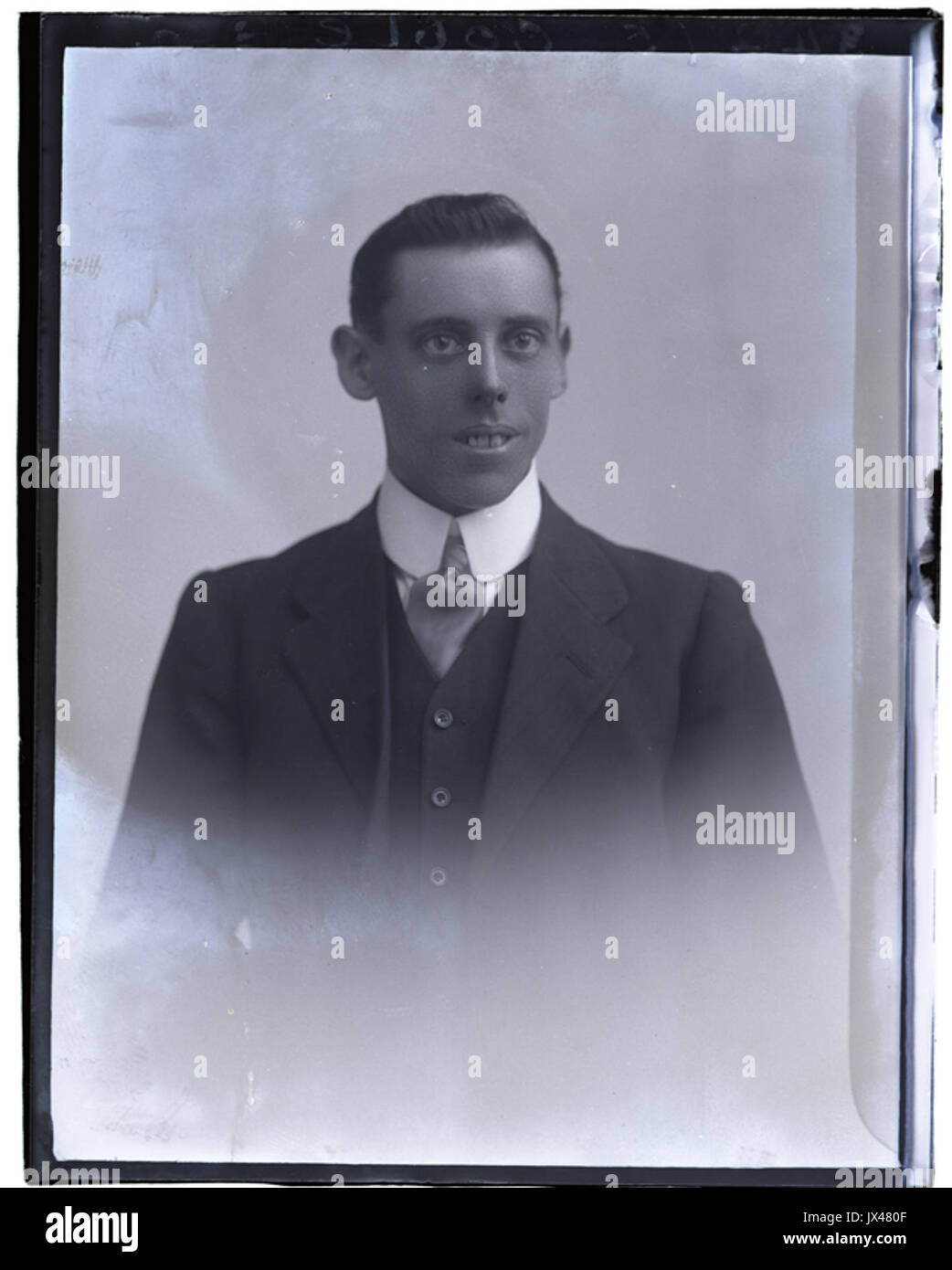 Mr Goble, 25 Sep 1915 (16516310578) - Stock Image