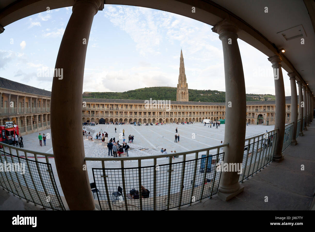 The Piece Hall, Halifax, West Yorkshire - Stock Image