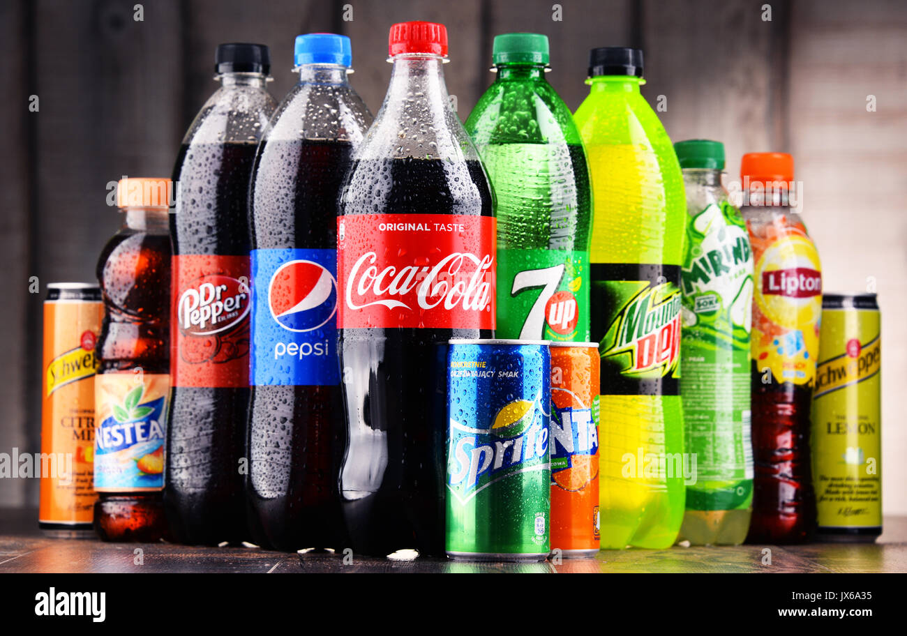 Top 10 Soft Drink Companies in the World 2018