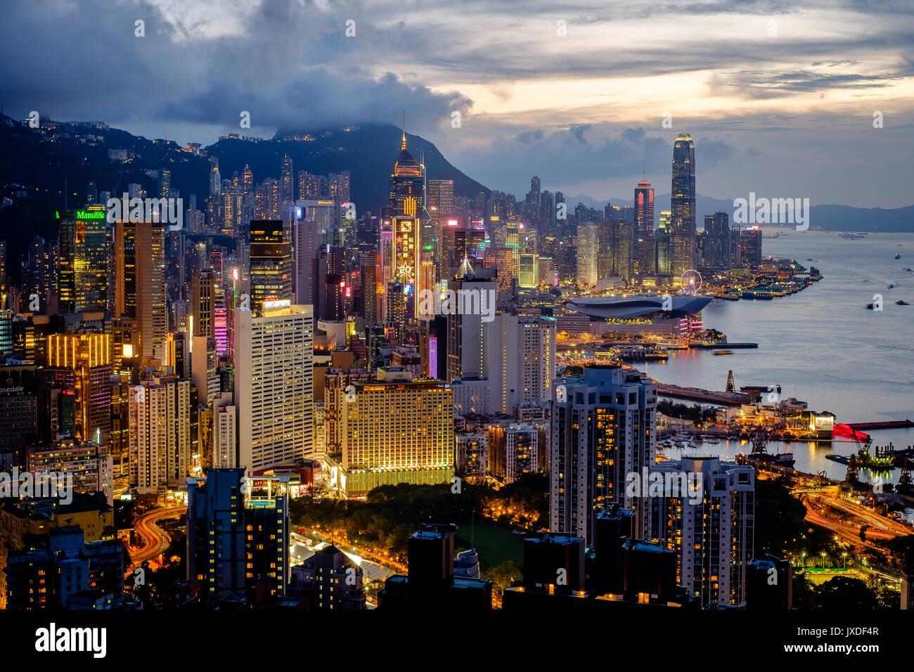 Braemar Hill, Hong Kong - Stock Image