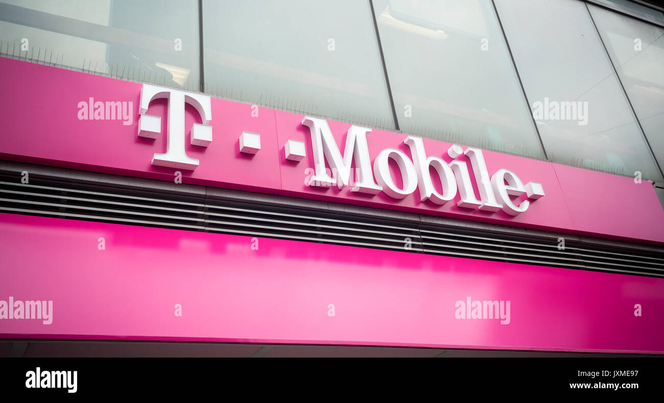Telekom ag stock photos telekom ag stock images alamy for T mobile upper west side