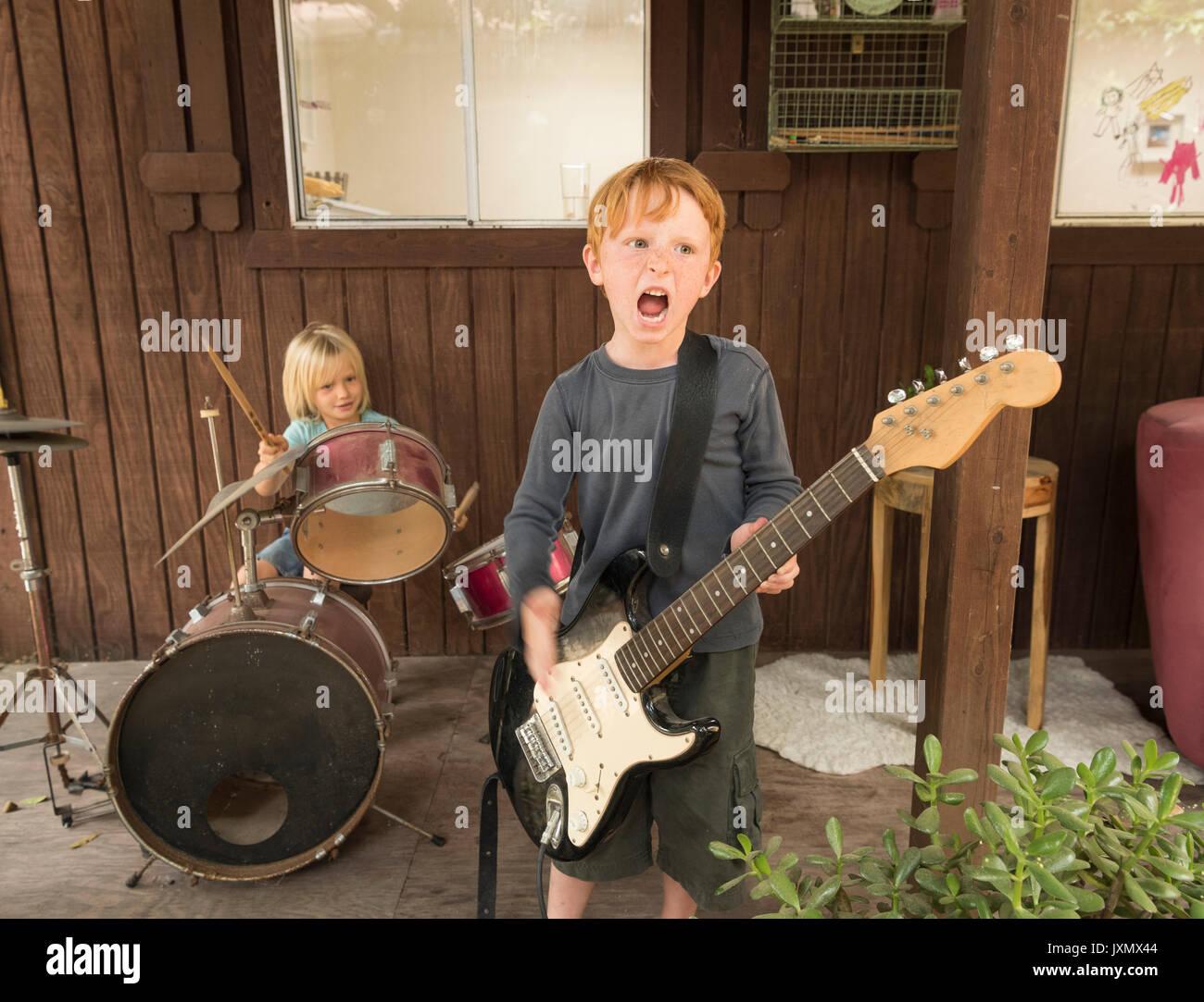 loud children stock photos loud children stock images alamy. Black Bedroom Furniture Sets. Home Design Ideas