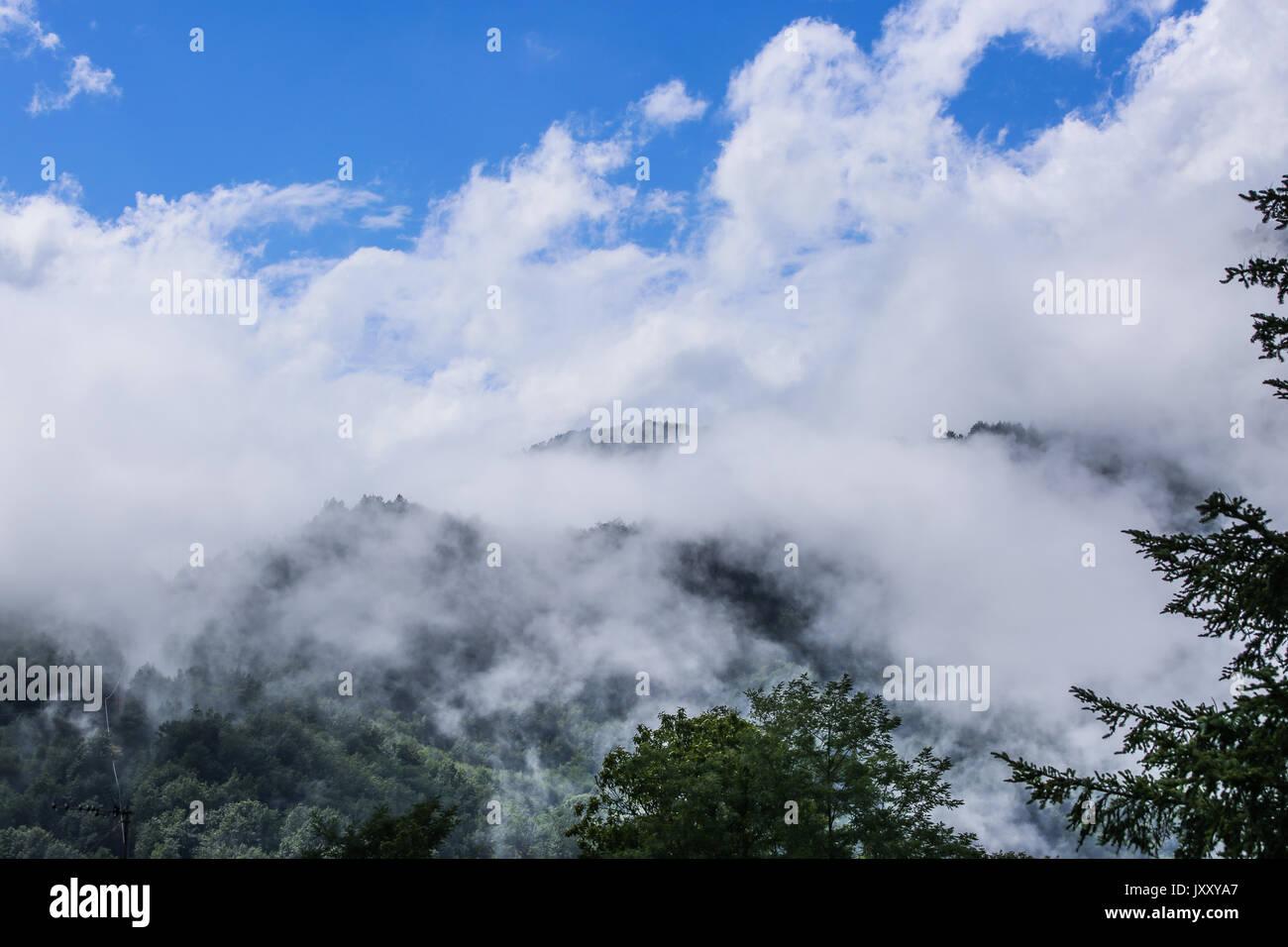 Apennine Mountains - Stock Image
