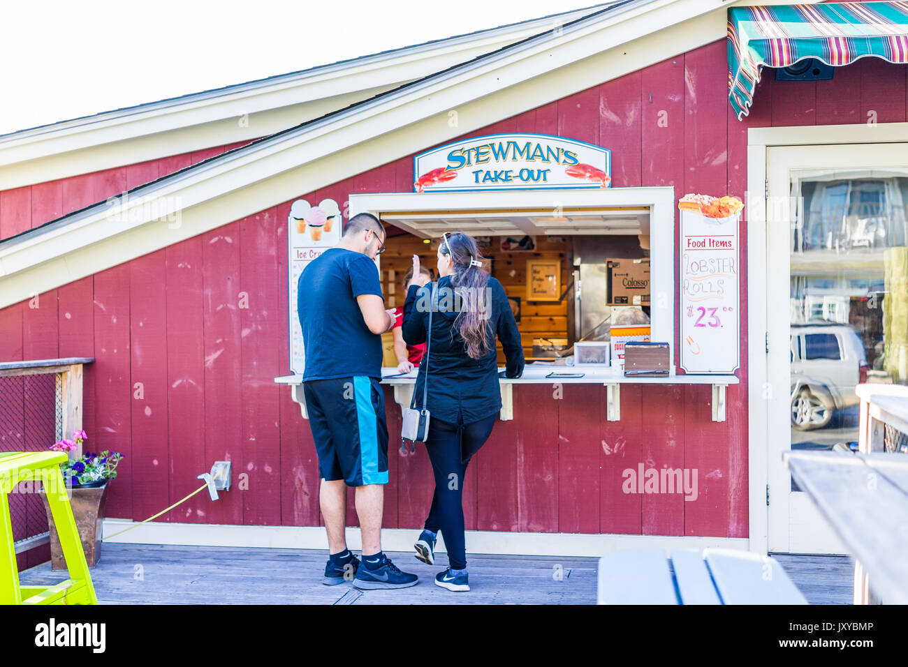 Stewmans stock photos stewmans stock images alamy for Food bar harbor