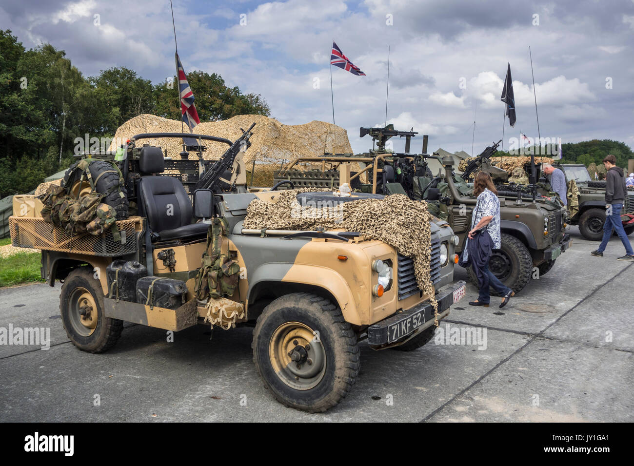 land rover military british stock photos land rover. Black Bedroom Furniture Sets. Home Design Ideas