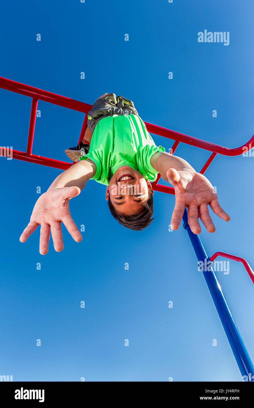 Hangs Upside Down Stock Photos & Hangs Upside Down Stock