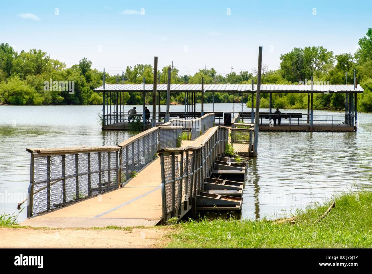 Lake hefner oklahoma stock photos lake hefner oklahoma for Lake hefner fishing