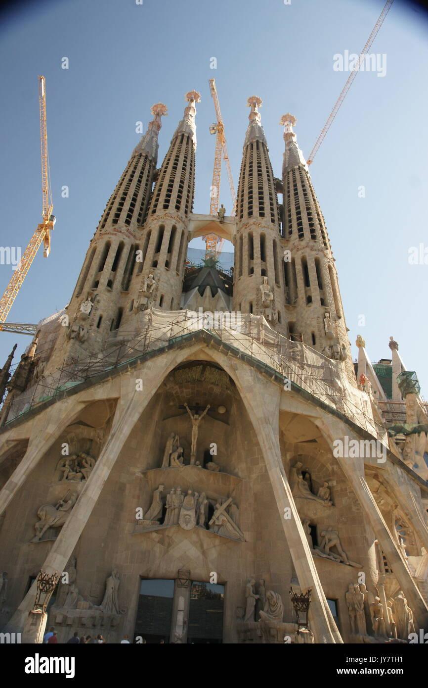Catalan modernism stock photos catalan modernism stock for Kathedrale barcelona gaudi
