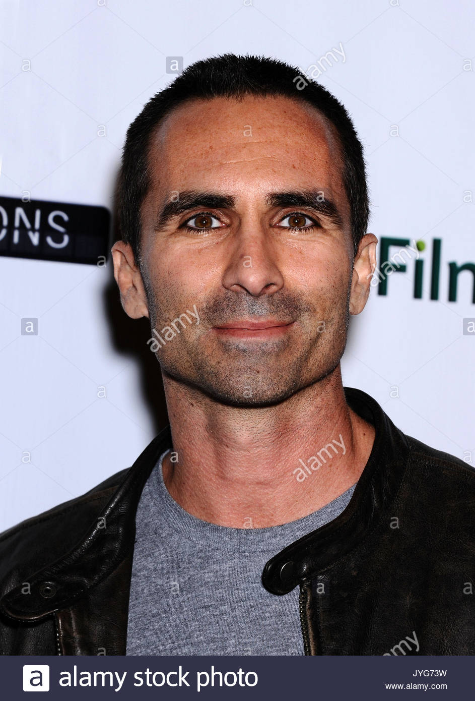 Nestor Carbonell. 'Certainty' Los Angeles premiere. - Stock Image