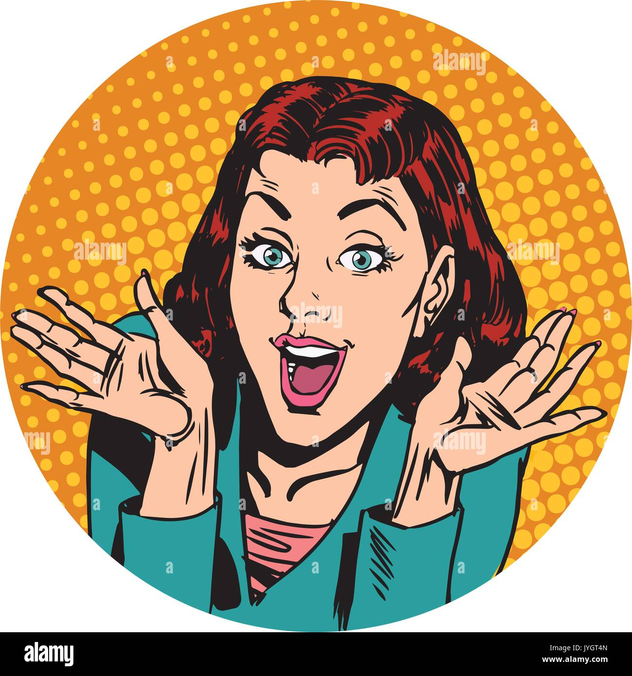 Lady Comic Character Icon Stock Photos Amp Lady Comic