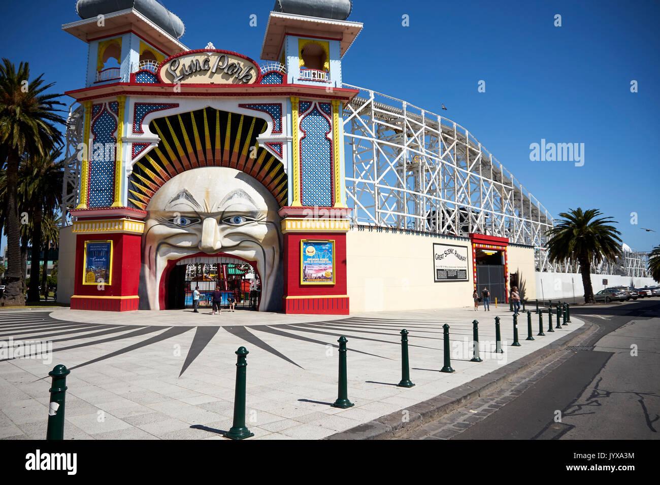 Luna park melbourne stock photos luna park melbourne for Puerta 7 luna park