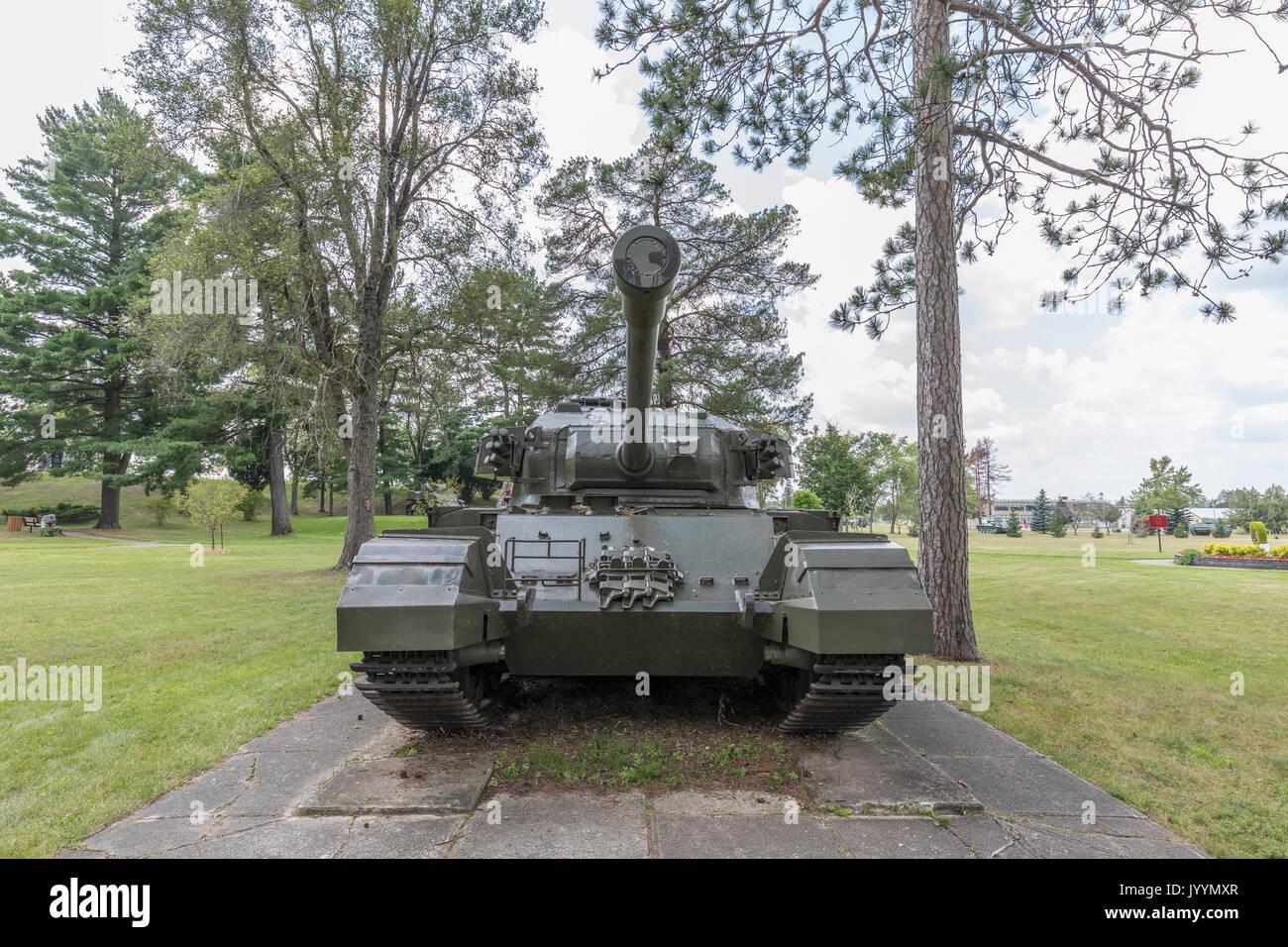 British Centurion MK5 Main Battle Tank - Stock Image