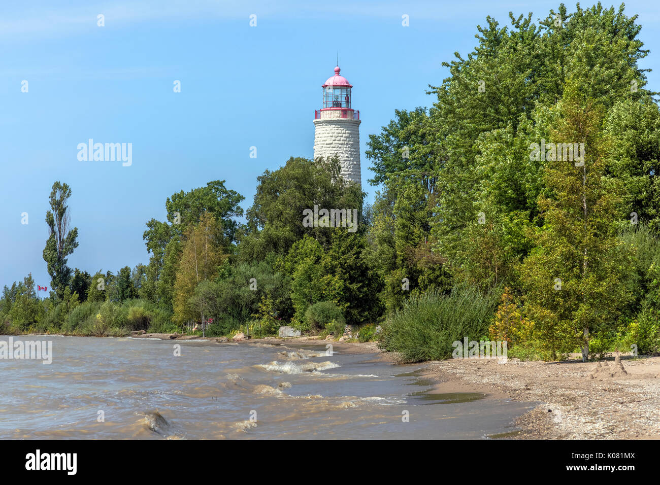 Point Clark, Bruce County, Ontario, Canada - Stock Image
