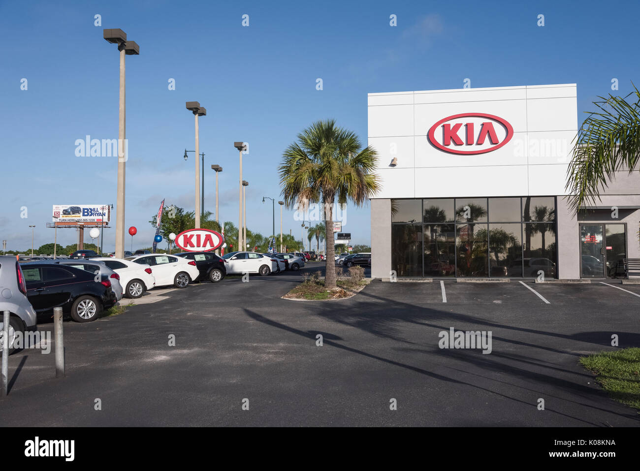 Kia dealership stock photos kia dealership stock images for Kia motor company usa