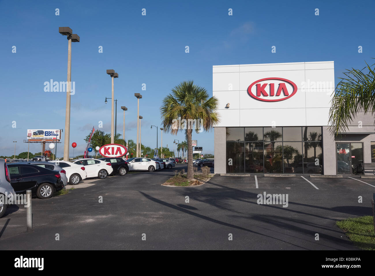 Kia Dealership Stock Photos Amp Kia Dealership Stock Images