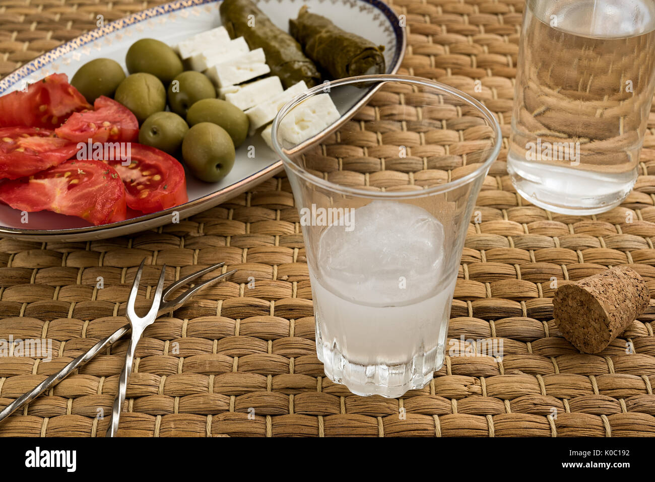 how to drink turkish raki
