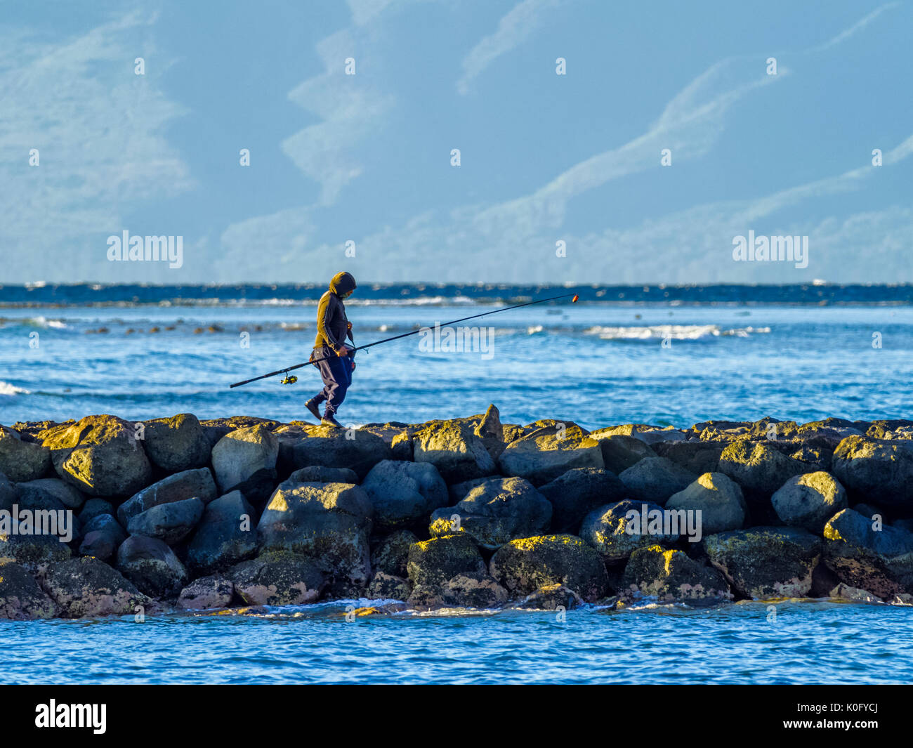 Fishing hawaii tourist stock photos fishing hawaii for Fishing in maui